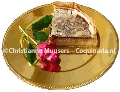 De taart in een korst