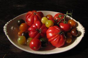 De tomaten die in deze tomatensoep zijn gebruikt