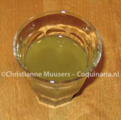 Home-made, fresh verjuice