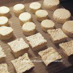 Fresh goat's milk cheeses