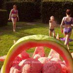 Sorbetijs van watermeloen