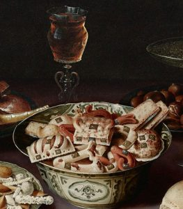 Osias Beert, Still life (detail). Source: Wikipedia