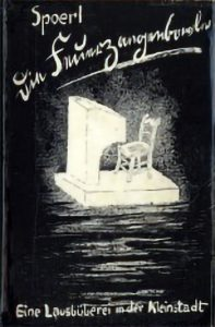 Cover of the first of 'Die Feuerzangenbowle' from 1933.