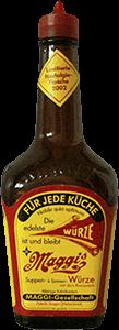 Old bottle of Maggi Sauce