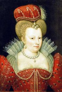 Portrait of Marguerite de Valois, 16th century. Source: Wikimedia