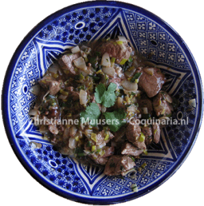 Spicy lamb meat from the tenth century