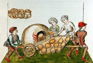 Medieval travelling oven