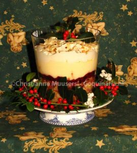 Mrs Beeton's Trifle