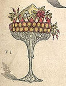Trifle, illustration from The Book of Household management