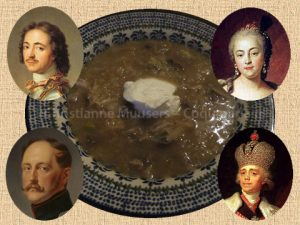 Cabbage soup (shtchi) was a favourite dish of a number of Romanov czars