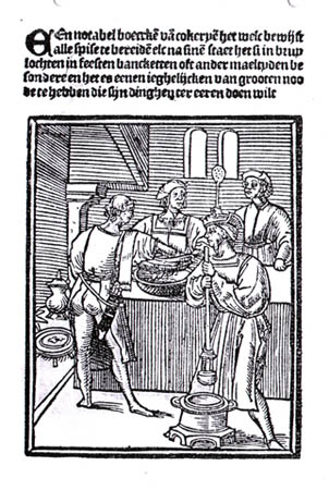 Frontpage of the Notabel boecxken (1514)