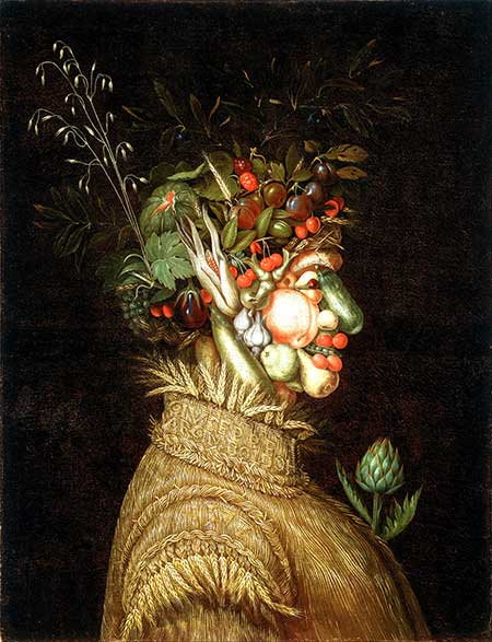 Giuseppe Arcimboldo, Zomer (1573, bron: Wikimedia)