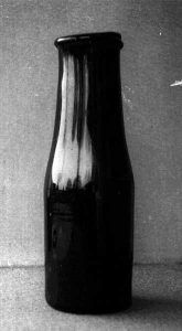 De inmaakfles van Nicolas Appert. Bron Wikimedia - collection Jean-Paul Barbier, musée Châlons en Champagne salle Appert