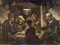 The potato eaters, Van Gogh