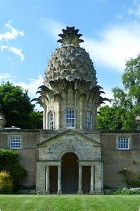 Dunmore Pineapple, Dunmore Park bij Airth, gebouwd in 1761 (Wikimedia, foto Kim Traynor)