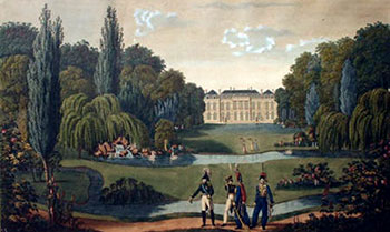Elysée-Bourbon palace in 1815, by Henri Courvoisier-Voisin
