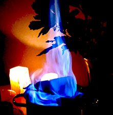 Feuerzangenbowle, playing with fire