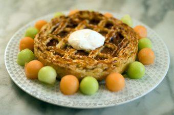Melon pie from the eighteenth century