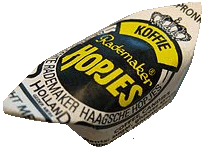 The Dutch candy 'Haagsche Hopjes'