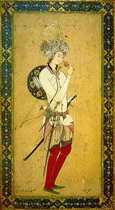 Harun Al-Rashid, the famous caliph from 1001 Nights. Source unknown