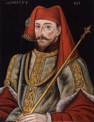 'Portrait' of Henry IV (1367-1413, anonymous, painted about 1600)