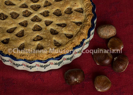 The chestnut pie from Susanna Eger