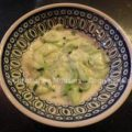 Ouderwetse komkommersalade