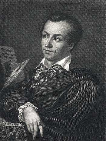 Antonin Carême, the author of the 'Patissier Royal'