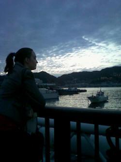 Aan de baai van Nagasaki (foto M. de R.)