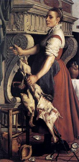 De kokkin - Pieter Aertsen (1559)