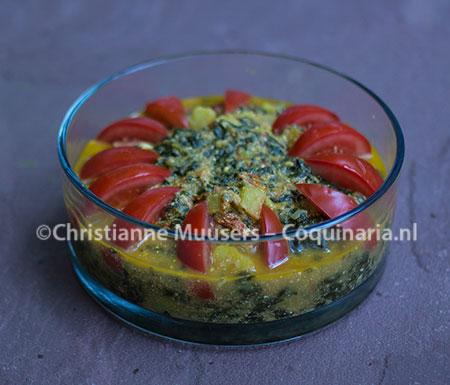 Saag, 'slow spinazie' uit India