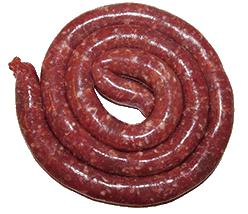 Salsiccia, Italiaanse verse worst (bron: Wikipedia.it