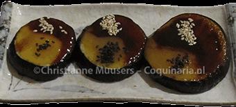 Japanse aubergines (nasu dengaku)