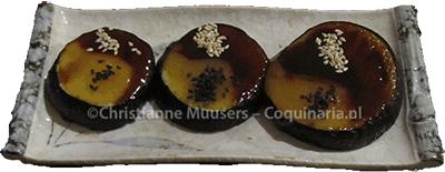 Nasu dengaku: gegrillde aubergine met misoglazuur