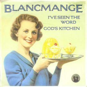 Hoes van een single van de Britse muziekgroep Blancmange uit 1982