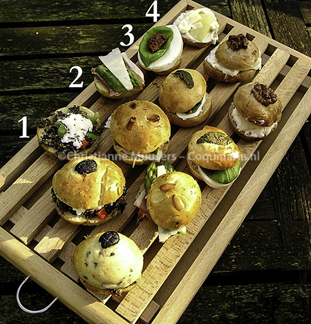 Populair Recepten voor Italiaanse picknickbroodjes met lekker beleg &NF85
