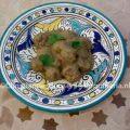 Arab meatballs with aubergines