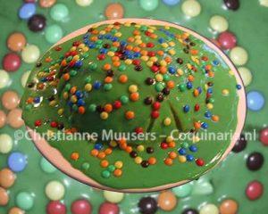De Cassata Siciliana-verjaardagstaart