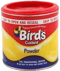 De originele Bird's custard