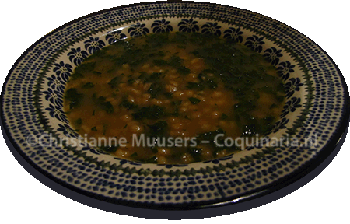 Dutch barley soup (1803)