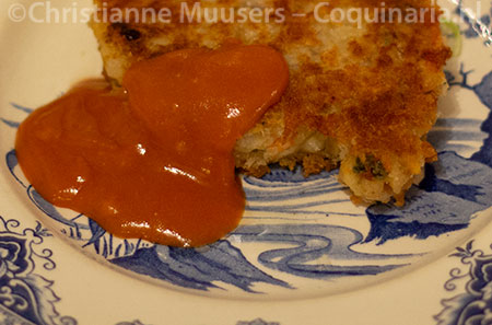 The vegetable cutlets with gravy from Iwan Kriens