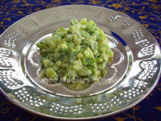 Komkommersalade uit Mauritius