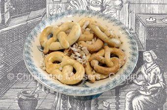 Excellent almond cookies