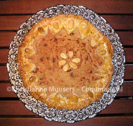 Quince pie from the 16th century