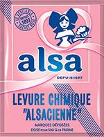 Levure Alsacienne, ofwel Frans bakpoeder