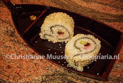 De binenste-buiten sushi