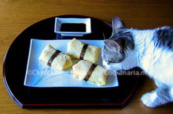 Japanse dunne omelet