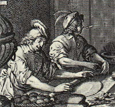17th-century pastry bakers (Abraham Bosse)