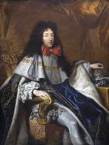Philippe, duke of Orléans. Portrait by Pierre Mignard, 4th quarter 17th century. Bordeaux, Musée des Beaux-Arts. Source: Wikimedia