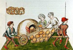 Een middeleeuwse ambulante oven